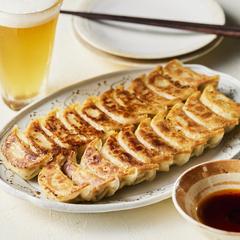 生姜の香りで一度食べたらやみつきに/ 弐ノ弐「しょうが餃子」