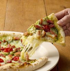 ジェノベーゼの爽やかな風/南風堂 ベーコンとジェノバのピザ(3枚セット)