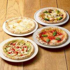 お取り寄せピザのレベル越え/南風堂 本場の味を食べ比べできる4種のピザセット(各1枚)