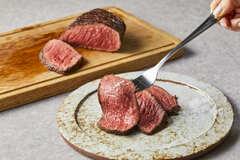 赤身の味わい濃厚なイチボの塊肉!/みちのく日高見牛 イチボ