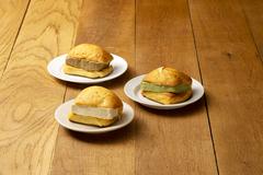 パン好きのためのアイスブリオッシュ!/アイスブリオッシュ 3種6個セット(ミルク・緑茶・紅茶 × 各2個)